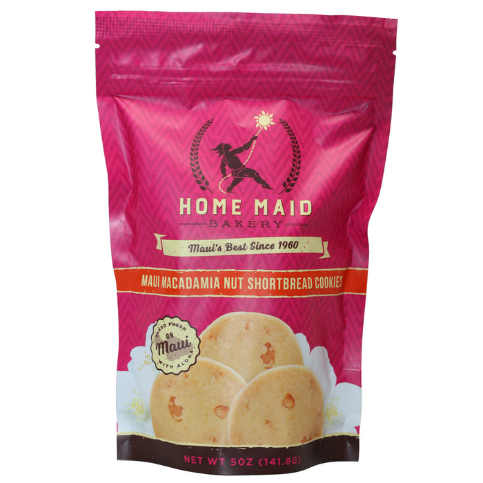 Home Maid Maui Macadamia Nut Shortbread Cookies