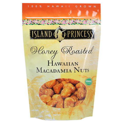 Island Princess Honey Roasted Hawaiian Macadamia Nuts - 10 oz