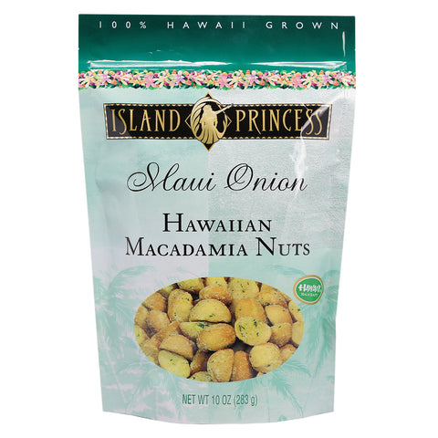 Island Princess Maui Onion Hawaiian Macadamia Nuts - 10 oz