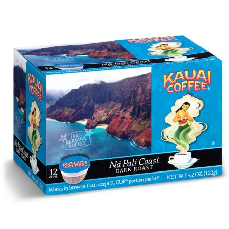 Kauai Coffee Na Pali Coast Dark Roast K-Cup