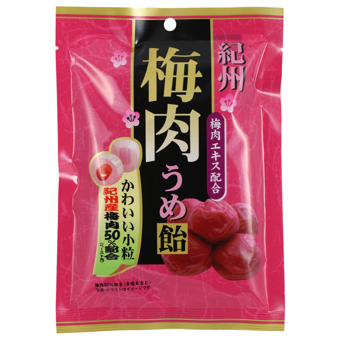 Kishu Bainiku Ume Hard Candy - 3 pack