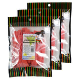 Li Hing Mui Strawberry Belts - 11 oz (Pack of 3)