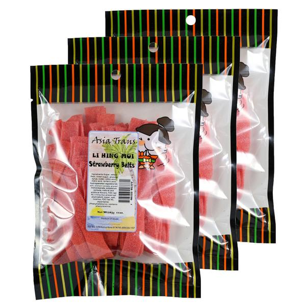 Facebook Special Offer - Li Hing Mui Strawberry Belts