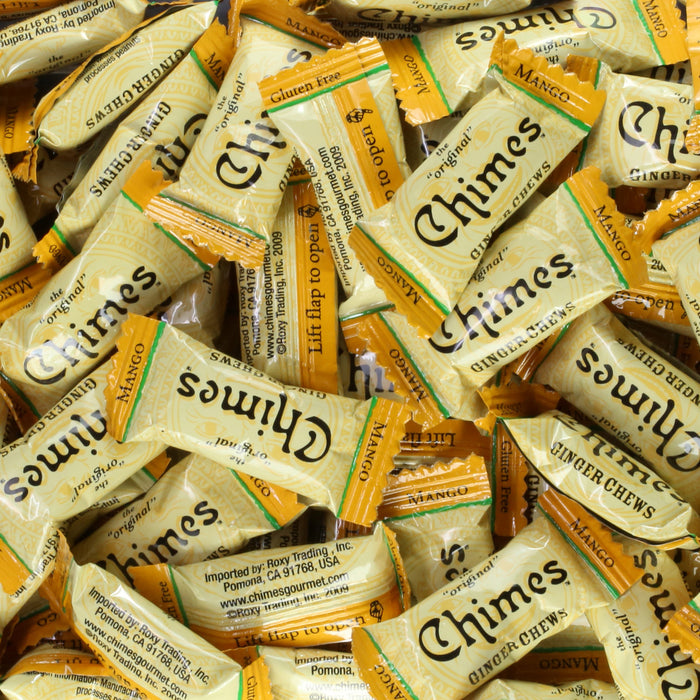 Chimes Mango Ginger Chews loose pieces