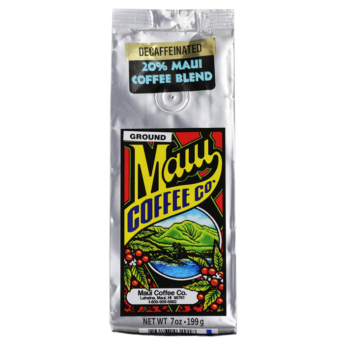 Maui Coffee Co. 20% Maui Blend Ground DECAF 7 oz