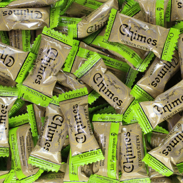 Chimes Original Ginger Chews individual wrap candy