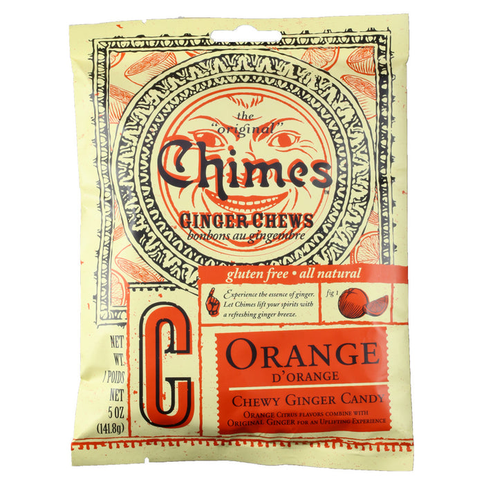 Chimes Orange Ginger Chews 5 oz