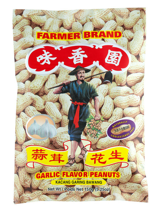 Farmer's Garlic Flavor Peanuts - 5.25 oz