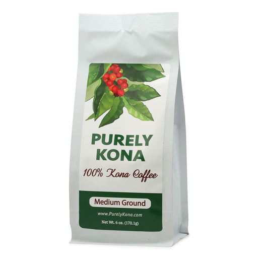 Purely Kona 100% Kona Coffee Medium Roast- 6 oz