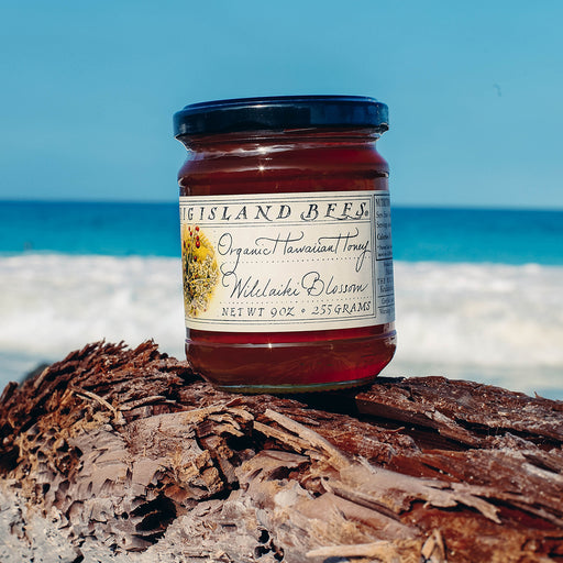 Big Island Bees Organic Wilelaiki Honey