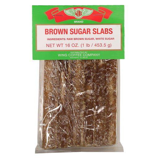 Wing Brand Brown Sugar Slabs