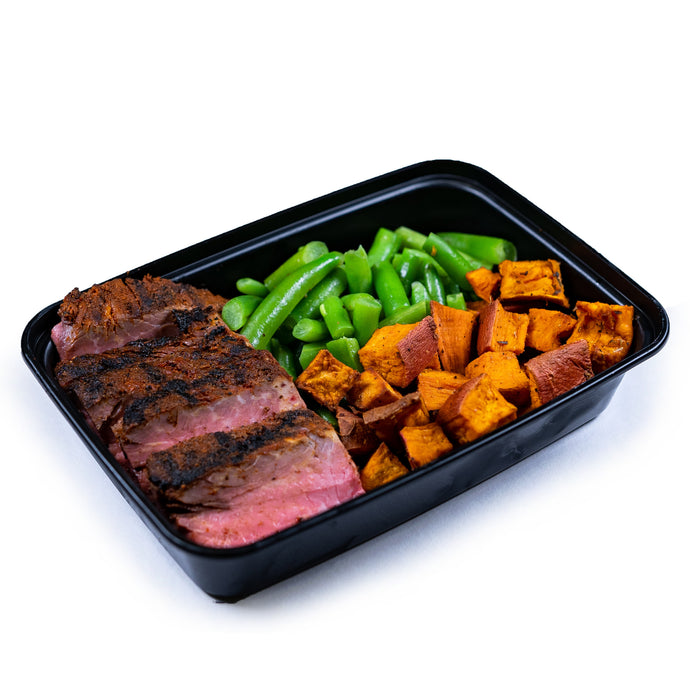 Steak, Green Beans and Sweet Potatoes - Dimino's Kitchen