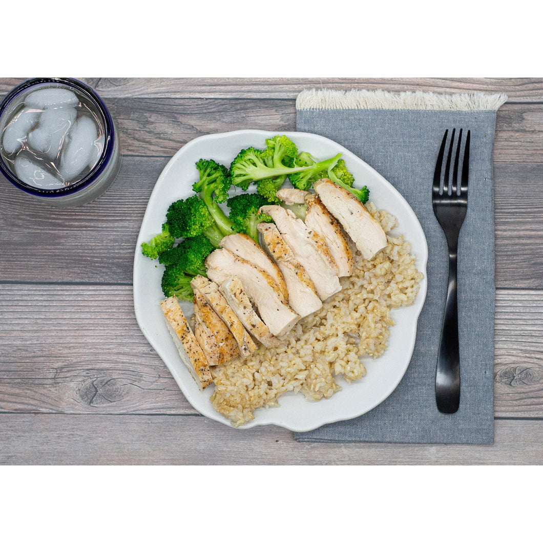 Grilled Chicken, Broccoli, Brown Rice - Dimino's Kitchen