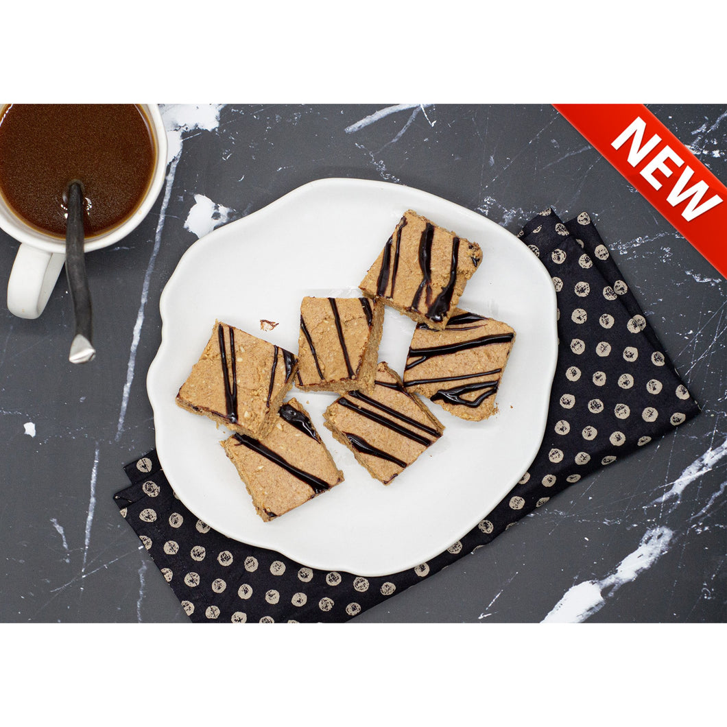 Chocolate Drizzled Protein Bites - Dimino's Kitchen
