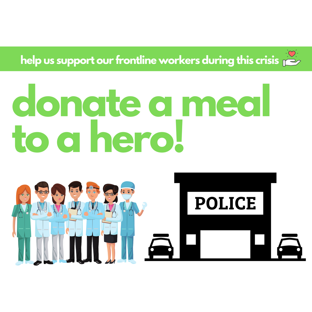 Feed a Healthcare/First Responder Hero - Dimino's Kitchen