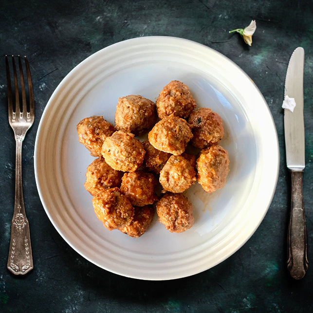 |SIDE|  FIRECRACKER MEATBALLS - Dimino's Kitchen