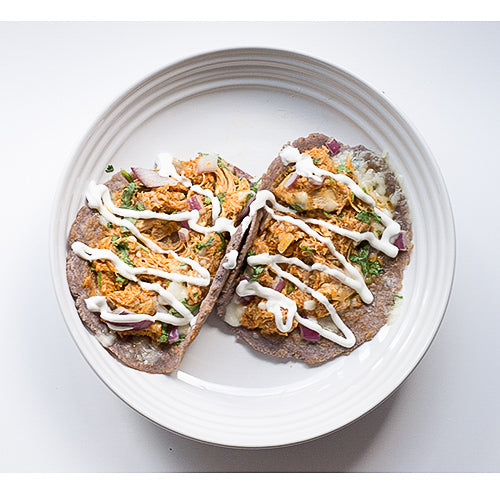 Chicken Tinga Tacos (Keto Friendly)