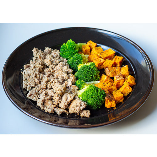 Ground Turkey, Sweet Potatoes, Broccoli - Dimino's Kitchen