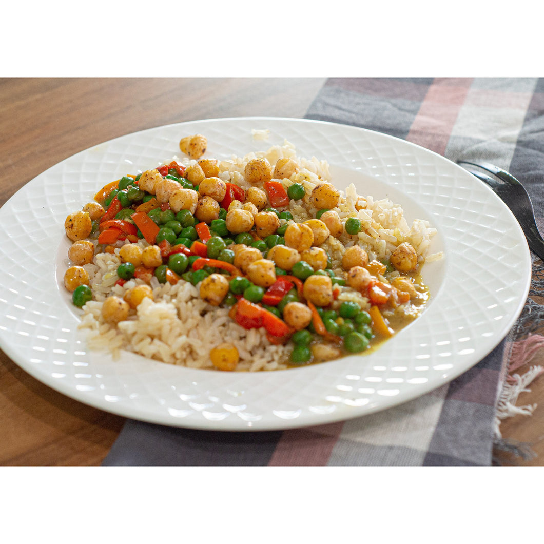Veggie Curry Over Brown Rice