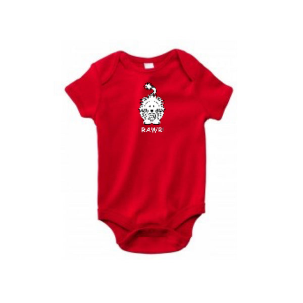 Embroidered Lion Baby Onesies