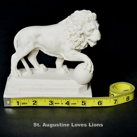 St. Augustine Lion Single withMeasuring Tape