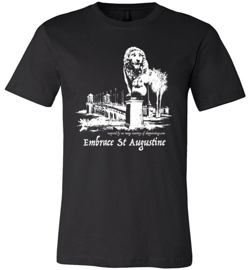 Embrace St. Augustine Lion on Bridge Tees