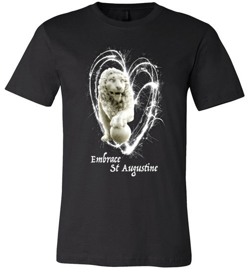 Embrace St. Augustine Lion Fireworks Tees