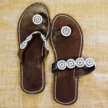 Small Disc Toe Sandals