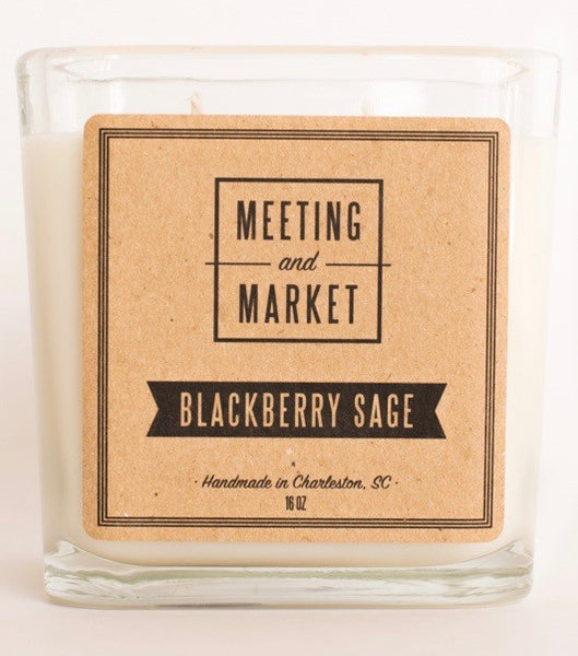Blackberry Sage 16oz Soy Wax Candle