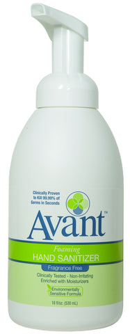 Pump Bottle Avant™ Foaming Fragrance Free Instant Hand Sanitizer