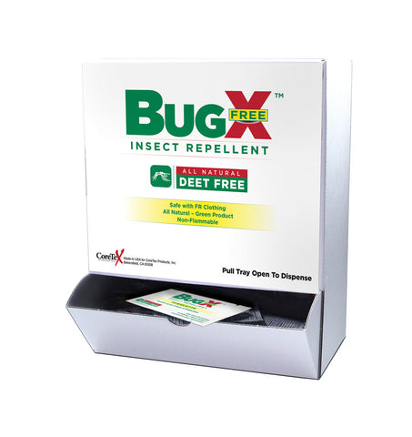 BugX Free Towelettes Wall Mount
