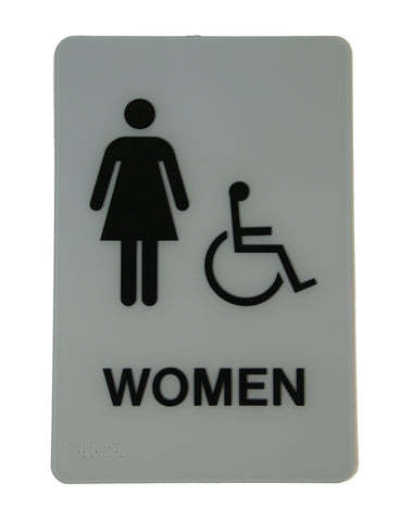 Women Handicap Sign
