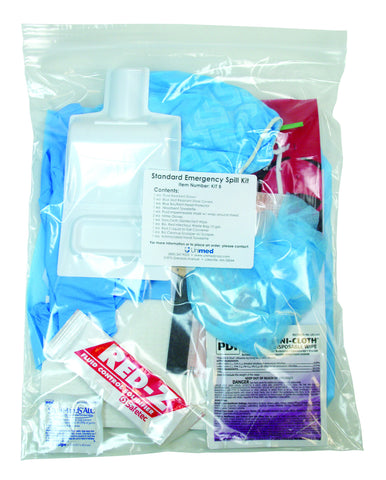 Standard Emergency Spill Kit -Kit B