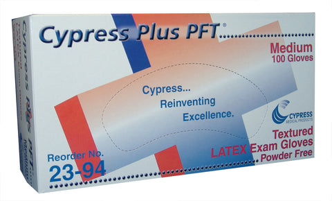 Cypress Plus™ Powder-Free Latex Medical Exam Gloves