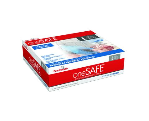 oneSafe Nitrile Gloves Minibox