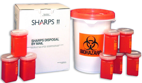 SHARPS 6.5 Gal Mail Away System