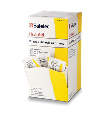 SafeTec Triple Antibiotic Ointment Packets