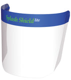 Splash Shield Lite Disposable Face Shield with Reusable Frame
