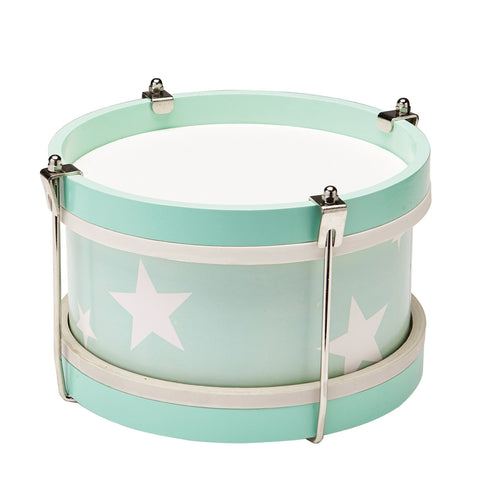 Star Wooden Toy Drum - Mint