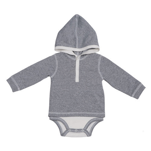 Hooded Layette Bodysuit