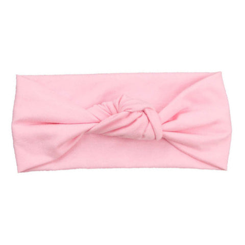Fit To Be Tied Turban Headband - Pink
