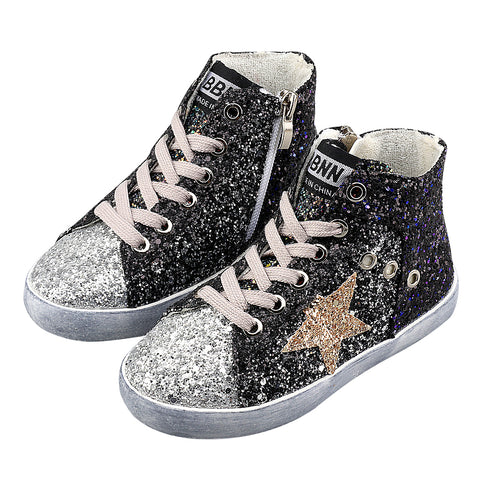 Sparkling Stars High Top Sneakers