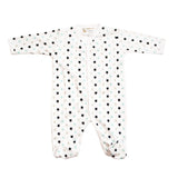 Star Struck Organic Cotton Footed Pajamas