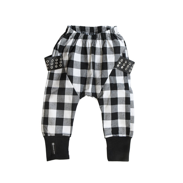 Melrose Plaid Harem Pants