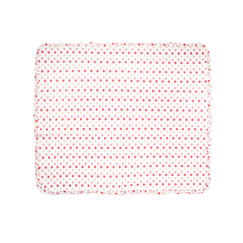 Filled with Love Organic Cotton Receiving Blanket