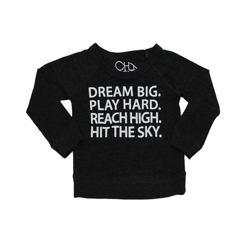 Chaser Kids Dream Big, Play Hard Shirt