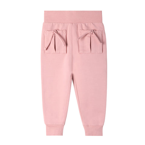 Aubrey Tie Pocket Sweatpant - Pink