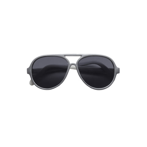 Jett Aviator Sunglasses - Silver