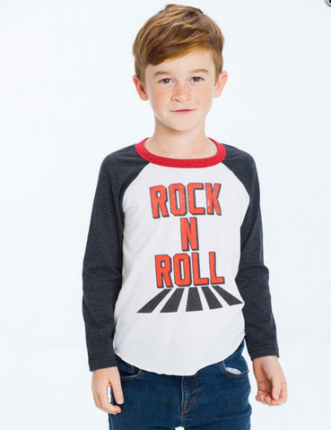 Chaser Kids Rock & Roll Baseball Tee
