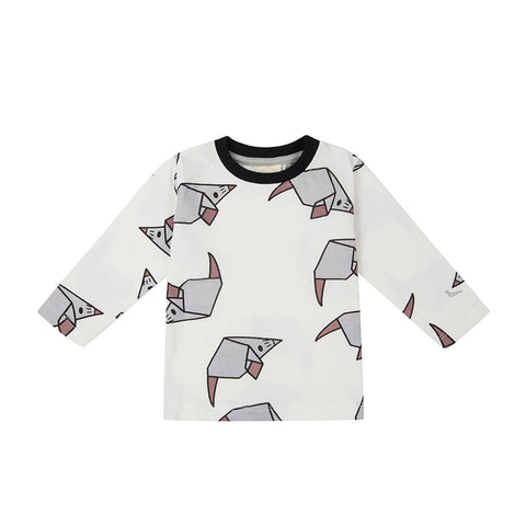 Origami Mouse Long Sleeve Tee